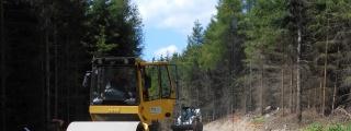 Rekonstrukce lesní cesty v k. ú. Horní Bítovčice